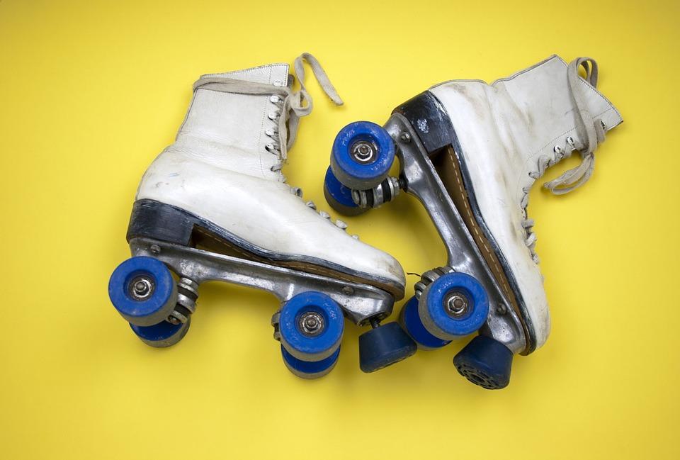 kolečkové brusle, in-line hokej, kolečka na brusle