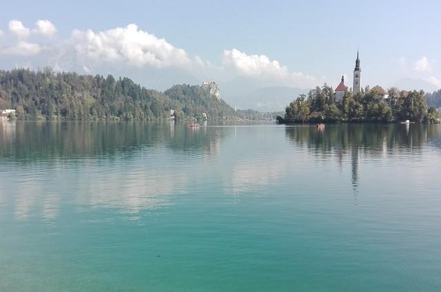 krásná jezera v Evropě