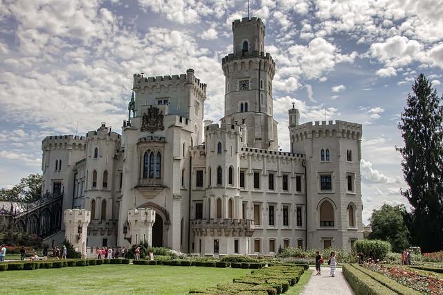 nejkrásnější hrady a zámky v České republice