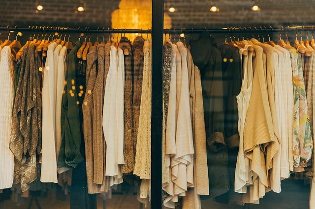 Podzimní barvy oblečení