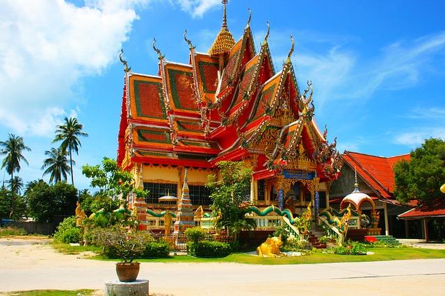 Čínská čtvrť v Thajsku