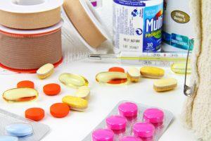 obsah lékárničky na cestu